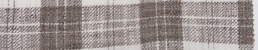 【Oz_ss09】ブラウン・ホワイト6×5cmタータンチェック