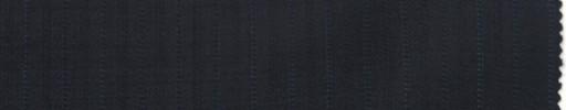 【Br_7w08】ダークネイビー柄+8ミリ巾ブルー・織交互ストライプ