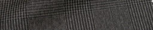 【Ca_71w005】グレーブラウン6.5×5.5cmグレンチェック