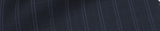 【Ca_71w010】ネイビー+1.3cm巾白Wストライプ