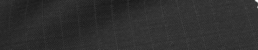 【Ca_71w023】チャコールグレー+9ミリ巾織りストライプ
