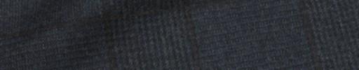 【Ca_71w058】ネイビー9.5×7cmグレンプレイド+ブラウンプレイド