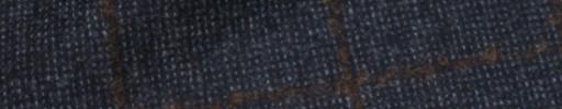 【Ca_71w074】ネイビードット+7×5cmブラウンウィンドウペーン