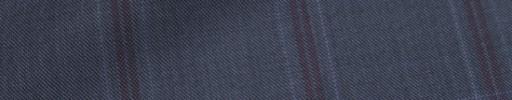 【Ca_72w002】ライトネイビー+6×4.5cmレッド・ブループレイド