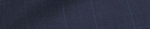 【Ca_72w010】ネイビー6.5×5.5cmグレンチェック+ブループレイド