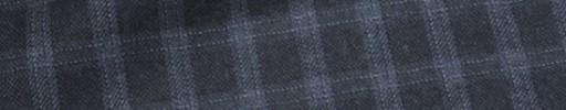 【Ca_72w023】ダークブルーグレー+1.5cmライトブルーファンシーチェック