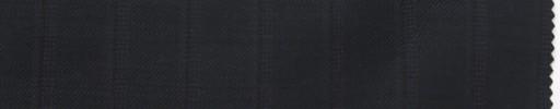 【Do_7w305】ダークブルーグレー+1.6cm巾パープル・織りストライプ