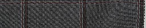 【Do_7w308】グレー+5.5×5cmエンジ・ブラック・グレーファンシープレイド