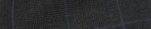 【Hs_ic08】チャコールグレーグレンチェック+4×3.7cmブルーオーパープレイド