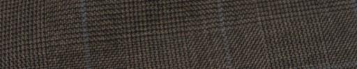 【Hs_ic10】ブラウングレンチェック+4×3.7cmライトブルーオーバープレイド