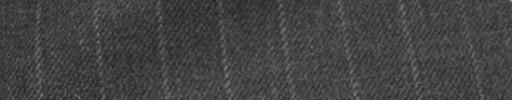 【Hs_ic28】ミディアムグレー+1.3cm巾ストライプ
