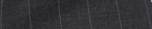 【Hs_ic40】チャコールグレー+2cm巾パープルストライプ