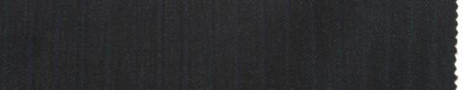 【La_7w06】チャコールグレー柄+6ミリ巾ブルー織りストライプ