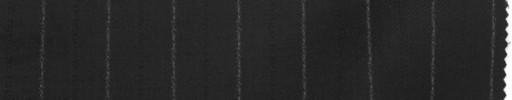【La_7w07】ブラック+1.7cm巾白・織り交互ストライプ