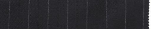 【La_7w08】ネイビー+1.7cm巾白・織り交互ストライプ