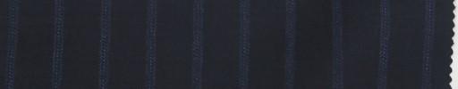 【Re_7w04】ネイビー+1.3cm巾パープル・ドットストライプ