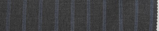 【Re_7w05】ミディアムグレー+1.3cm巾ライトブルー・ドットストライプ
