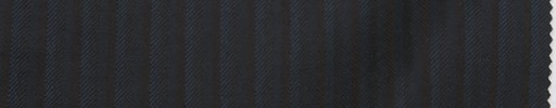 【Re_7w08】ダークネイビーシャドウ柄+8ミリ巾ブラウンストライプ