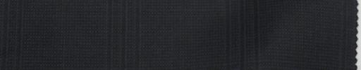 【Re_7w10】ネイビーファンシーチェック+5×4.5cmウィンドウペーン