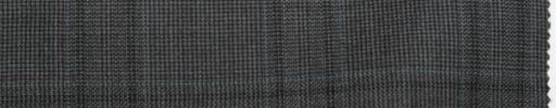 【Sc_7w12】グレー5.5×4.5cmファンシーチェック+水色プレイド