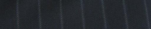 【Cc_7w005】ネイビー+1.3cm巾ブルードットストライプ