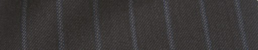 【Cc_7w006】ブラウン+1.3cm巾ブルードットストライプ