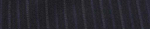 【Cc_7w014】ネイビー柄+1.2cm巾パープル・織り交互ストライプ