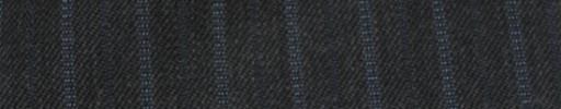 【Cc_7w045】チャコールグレー柄+1.2cm巾ネイビー・ブルー交互ストライプ