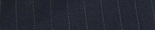【Cc_7w046】ネイビー+9ミリ巾白ドット・織りストライプ