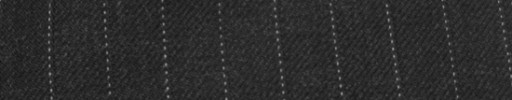 【Cc_7w047】チャコールグレー+9ミリ巾白ドット・織りストライプ