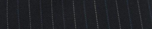 【Cc_7w051】ダークネイビー+1.4cm巾ブルー・白交互ストライプ
