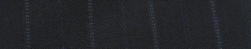 【Cc_7w052】ネイビー+2.3cm巾ブルーWドット・織り交互ストライプ