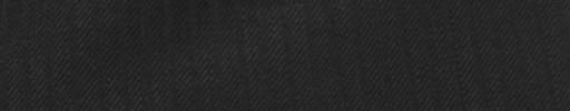 【Cc_7w081】ブラック+3ミリ巾織りストライプ