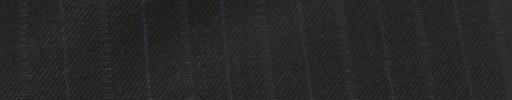 【Cc_7w088】ブラック+1.4cm巾ブルー・織り交互ストライプ