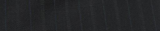 【Cc_7w089】ミッドナイト+1.4cm巾ブルー・織り交互ストライプ
