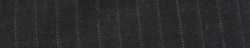 【Cc_7w101】チャコールグレー+8ミリ巾エンジ・白ドットストライプ