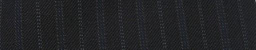 【Cc_7w106】ミッドナイト+1.5cm巾ブルー・ライトブルードット交互ストライプ