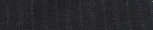 【Cc_7w107】チャコールグレー+1.5cm巾ブルー・ライトブルードット交互ストライプ