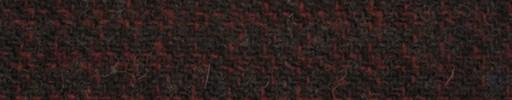 【Ht_5w073】グレー+1cm×8ミリレッド・Wドッテッドラインチェック