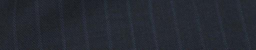 【Mc_7w38】ブルーグレー+1.1cm巾ライトブルードットストライプ