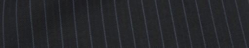 【Mc_7w43】ブラック+7ミリ巾ブルー・織り交互ストライプ