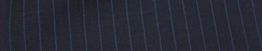 【Mc_7w44】ネイビー+7ミリ巾ブルー・織り交互ストライプ
