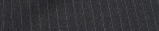 【Mc_7w45】チャコールグレー+7ミリ巾パープル・織り交互ストライプ