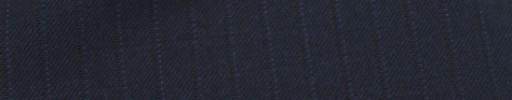 【Mc_7w61】ライトネイビー+9ミリ巾ライトブルー・織りストライプ