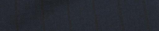 【Mc_7w64】ライトネイビー+2.1cm巾黒ストライプ
