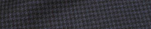 【Mij_7w02】ライトネイビー×ブラックハウンドトゥース
