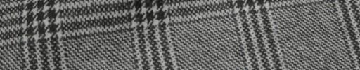【Mij_7w15】白黒4.5×3.8cmファンシープレイド