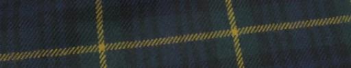 【Mij_7w21】ブラックウォッチタータン+5.5×5cmイエローウィンドウペーン