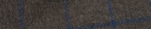 【Mij_7w25】ブラウン+4.5×3.7cmブルーウィンドウペーン