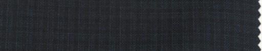 【Ps_7w08】ネイビー・ブラックミックス5ミリ織りグラフチェック
